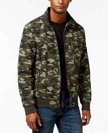 American Rag Men s Camouflage Bomber Jacket  Created for Macy s at Macys