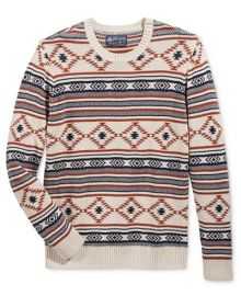 American Rag Men s Chalet Geo Sweater  at Macys