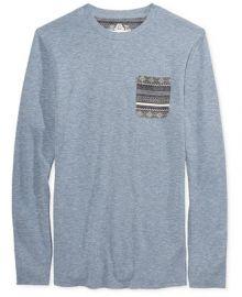 American Rag Men s Pocket Thermal Shirt  Created for Macy s at Macys