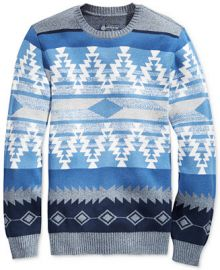 American Rag Men s Zig Zag Geo Sweater  Only at Macy s at Macys