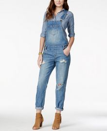 American Rag Ripped Denim Marlowe Wash Overalls  Only at Macy s at Macys