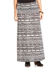 American Rag Tribal-Print Maxi Skirt - Juniors Skirts - Macys at Macys