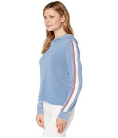 Americana Side Stripe Hoodie at Zappos