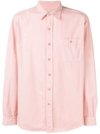 Ami Paris Classic-wide Fit Shirt With Buttoned Chest Pocket - Farfetch at Farfetch