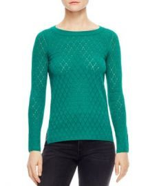 Anabelle Pointelle Sweater by Sandro at Bloomingdales