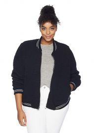 Anaelisa Fleece Bomber Jacket by Lucky Brand at Amazon