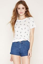 Anchor print tee at Forever 21