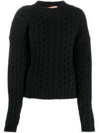 Andamane cable-knit Long Sleeve Jumper - Farfetch at Farfetch
