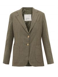 Andrea Pinstriped Blazer by Giuliva Heritage Collection at Matches