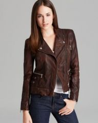 Andrew Marc Leather Jacket - Leandra at Bloomingdales