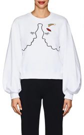 Andromeda Cotton Terry Sweatshirt at Barneys
