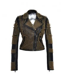 Angelina Gold Jacket by Hysideis at Hysideis