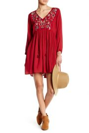 Angie Embroidered Dress at Nordstrom Rack