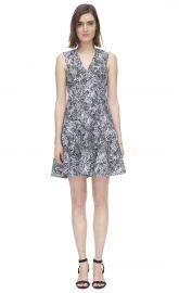 Animal Jacquard Dress at Rebecca Taylor