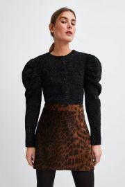 Animal Print Mini skirt by Zara at Zara