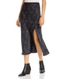 Anine Bing Dolly Zebra-Print Silk Skirt Women - Bloomingdale s at Bloomingdales