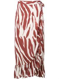 Anine Bing Lucky Wrap Skirt - Farfetch at Farfetch
