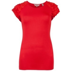 Anissa top in red at Ted Baker
