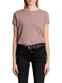 Anja Stripe Tee at All Saints