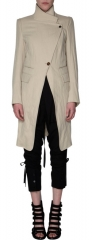 Ann Demeulemeester Asymmetric Front Coat at Barneys at Barneys