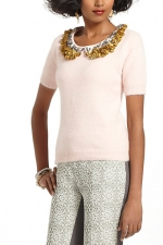 AnnaBeths collared sweater at Anthropologie