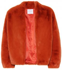 Anne faux fur jacket at Mytheresa