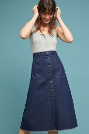Anouk Buttondown Skirt by Citizens of Humanity at Anthropologie