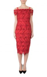 Anthea Crawford Cherry Lace Dress at Anthea Crawford