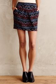 Anthol Skirt at Anthropologie