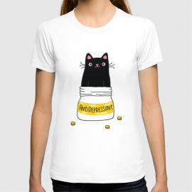 Antidepressant T-Shirt at Society6
