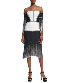 Antoinette Off-The-Shoulder Dress by Alexis at Bergdorf Goodman
