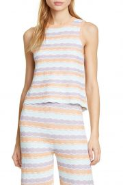 Antonella Stripe Knit Tank by Alice  Olivia at Nordstrom Rack