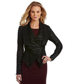 Antonio Melani Aimee Leather Jacket at Dillards