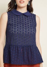 Anything Pose Peplum Blouse at ModCloth