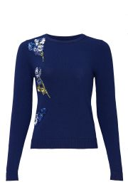 Applique Sweater by Prabal Gurung at Rent The Runway