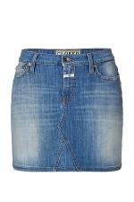 April's denim skirt at Stylebop