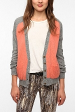 Aprils pink cardigan at Urban Outfitters