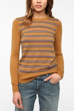 Jane Intarsia Knit Pullover Sweater by Coincidence & Chance at Urban Outfitters