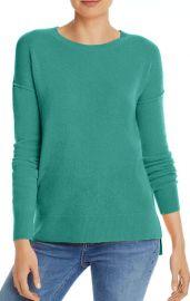Aqua High/Low Cashmere Sweater at Bloomingdales