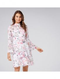 Archie Flare Sleeve Dress at Forever New