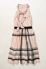 Archival Collection Dotted Dress at Anthropologie