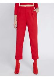 Ardell High-Waist Pleated Pants by Alice + Olivia at Alice + Olivia