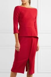 Ardingly dress by Roland Mouret at Farfetch
