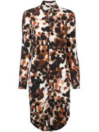 Area Fionne Shirt Dress - Farfetch at Farfetch