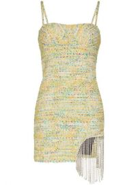 Area crystal-trimmed Tweed Mini Dress - Farfetch at Farfetch