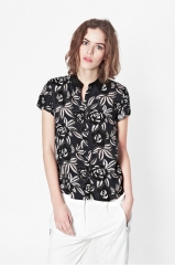 Argan Rose Relaxed Shirt at French Connection