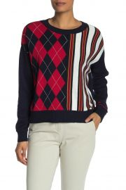 Argyle & Stripe Sweater at Nordstrom Rack