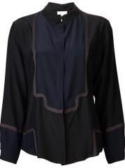 Ari Dein Colorblocked Pajama Top - Forty Five Ten at Farfetch