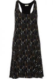 Arianna printed silk mini dress at The Outnet