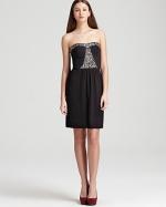 Aria's black dress at Bloomingdales